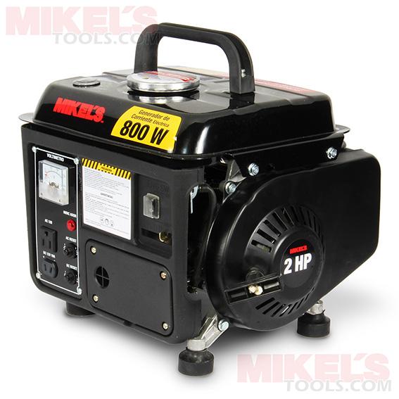 Generador de corriente electrica 800w 2 hp mikels modelo - Generador de corriente ...