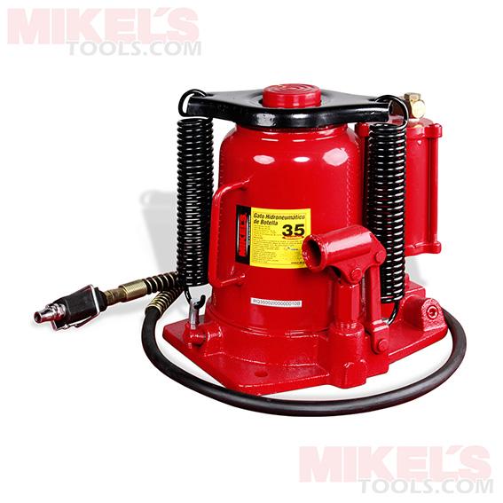 Gato de botella hidroneumatico 35 t mikels modelo gn 35 for Precio de hidroneumatico